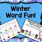 Winter Word Fun!