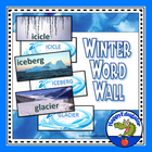 Winter Word Wall - Also Winter Word Sort