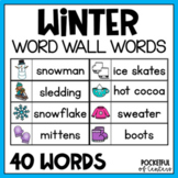 Winter Word Wall Words {FREE}