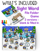 Winter Word Work Games