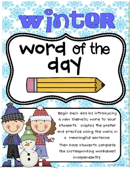 Winter Word of the Day