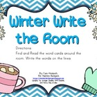 Winter Write the Room FREEBIE