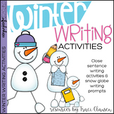 Writing Activities - Winter Inspired Writing Lessons