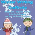 Winter Writing Craftivity (English & Spanish)