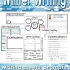 Winter Writing Pack for 1st and 2nd!