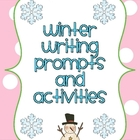 Winter Writing Packet