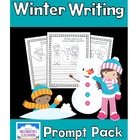 Winter Writing Prompt Packet (Color-and-Write)