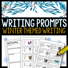 Winter Writing Prompts / Journal Starters - 64 idea cards!!