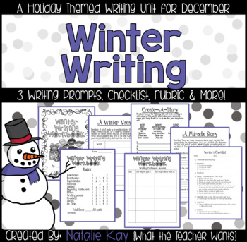 Winter Writing Workbook