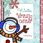 Winter Writing Workstation/Center Pack