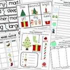 Winter and Christmas Math and Literacy Bundle