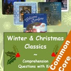 Winter and Christmas Texts - Reading Comprehension Questions