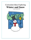 Winter curriculum ideas