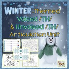 Winter themed /TH/ Articulation Packet