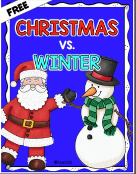 Winter vs. Christmas freebie