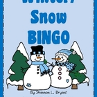 Winter/Snow BINGO Game