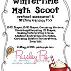MATH: Wintertime Themed Math Scoot (Assessment)