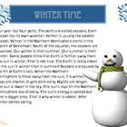 Wintertime Reading Comprehension Story with Questions/Writ