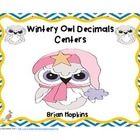 Wintery Owl Decimals