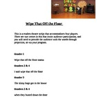 &quot;Wipe That Off the Floor&quot; A Readers Theatre Script [Theate