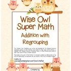 """Wise Owl Super Math"" Addition With Regrouping - Common Co"