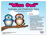 Wise Owl for Inferencing, Riddles, Analogies and Predictio