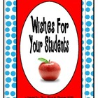 Wishes For Your Students