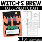Witch Craft- Craft and Writing Templates