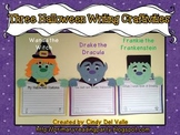 Witch, Dracula, & Frankenstein {3 Halloween Writing Craftivities}