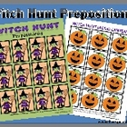 Witch Hunt Prepositions