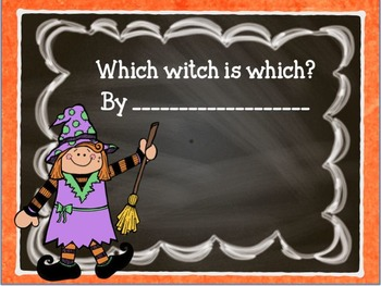 Witch I can draw I can write Halloween fun pack
