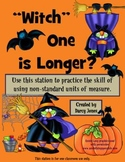 Witch One is Longer - Halloween Non-Standard Measurement