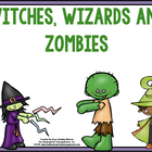 Halloween  Math And Literacy Centers:  Witches, Wizards An