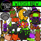 Witch's Brew {Creative Clips Digital Clipart}