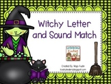 Witchy Letter and Sound Match