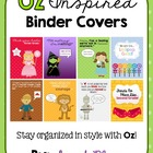 Wizard of Oz Inspired Binder Set