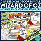 Wizard of Oz Theme EDITABLE Classroom Essentials-34 Printa
