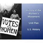Women's History in the United States Unit Plan - Common Core