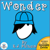 Wonder By R.J. Palacio Novel Unit Study