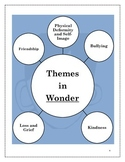 Wonder Thematic Novel Activities Student Journal