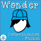 Wonder by RJ Palacio Comprehension Question Packet