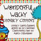 Wonderful Wacky Literacy Stations/Activities