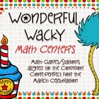 Wonderful Wacky Math Stations/Activities