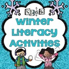 Wonderful Winter Literacy Center Activities Grades 1-2
