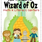Wonderful Wizard of Oz Math &amp; Literacy Centers