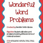 Wonderful Word Problems