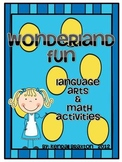 Wonderland Fun {Alice in Wonderland Themed Activities}