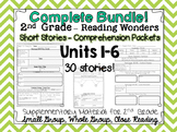 McGraw Hill Wonders 2nd Grade - Close Reading - BUNDLE: Units 1-6