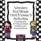 Wonders 2nd Grade Unit 3 Activities Week 2