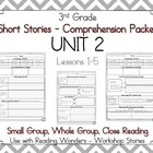 Wonders 3rd Grade - Guided Reading Groups - UNIT 2